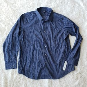 🎉APT 9 NWT mens dress shirt long sleeve XXL